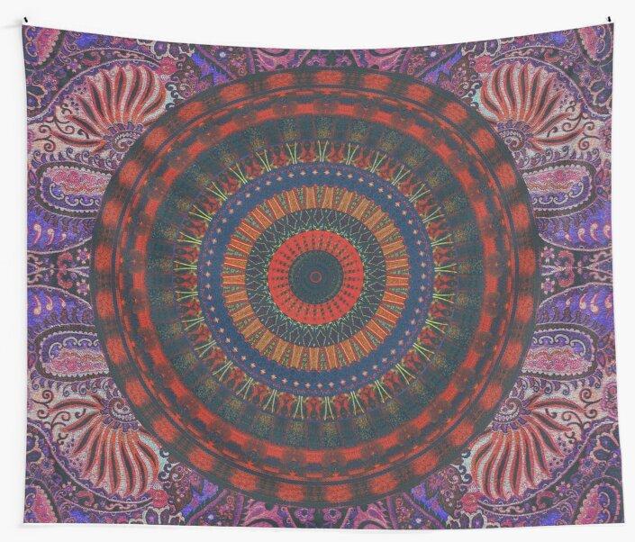 The People Dream in Mandala by Daniel Watts