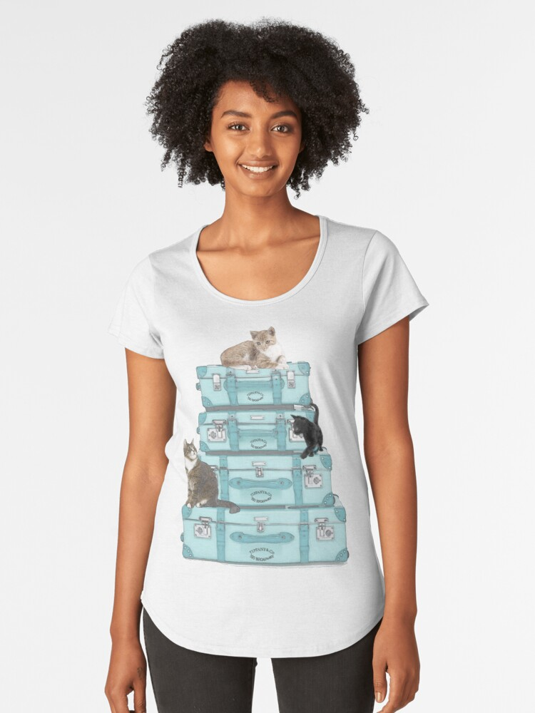 Travelling with my friends Women's Premium T-Shirt Front