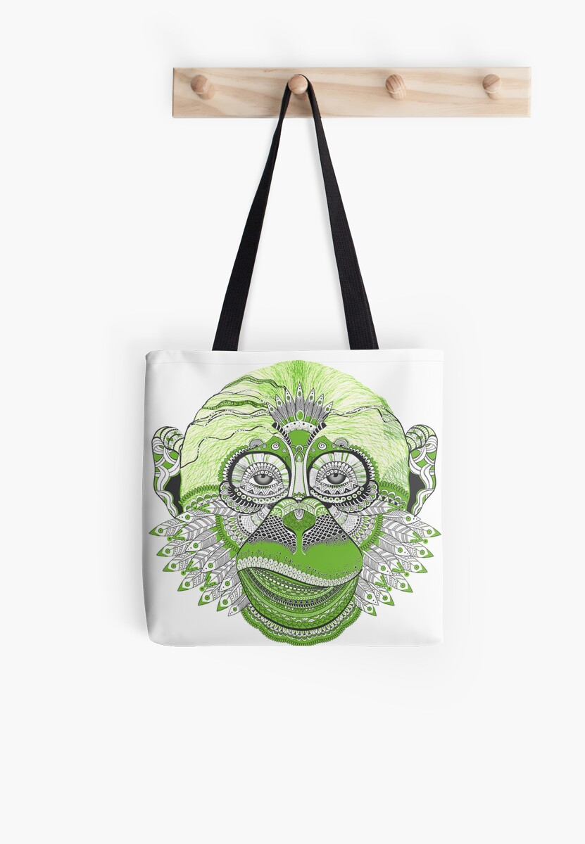 Green Chimp by digital-circus