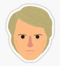 Fifth Doctor head Sticker