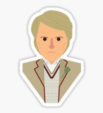 Fifth Doctor Sticker