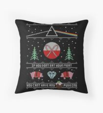 Hey Yule - Pink Christmas Floor Pillow