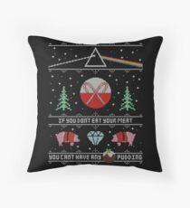 Hey Yule - Pink Christmas Floor Pillow