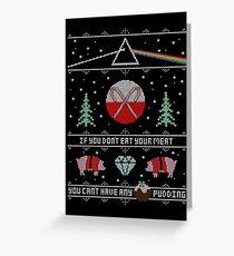Hey Yule - Pink Christmas Greeting Card