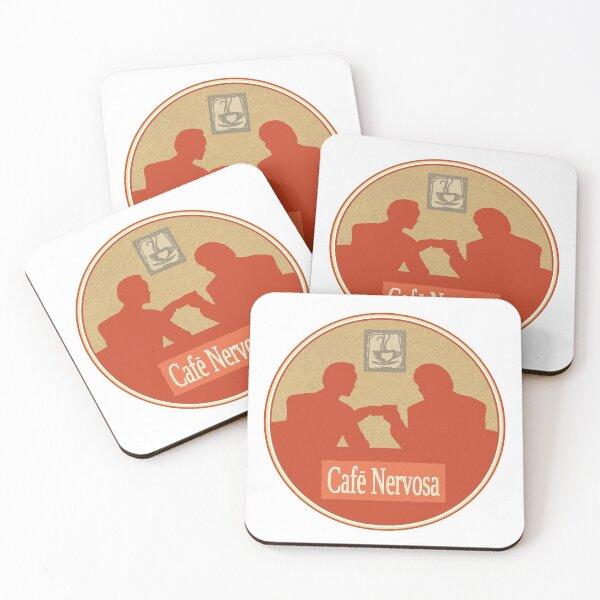 Nervosa Coasters (Set of 4)