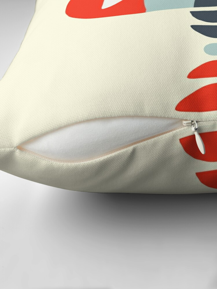 Alternate view of Storm Calka Modern  Throw Pillow