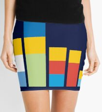 Simpsons on the Block Mini Skirt