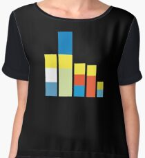 Simpsons on the Block Women's Chiffon Top