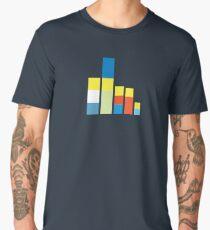 Simpsons on the Block Men's Premium T-Shirt