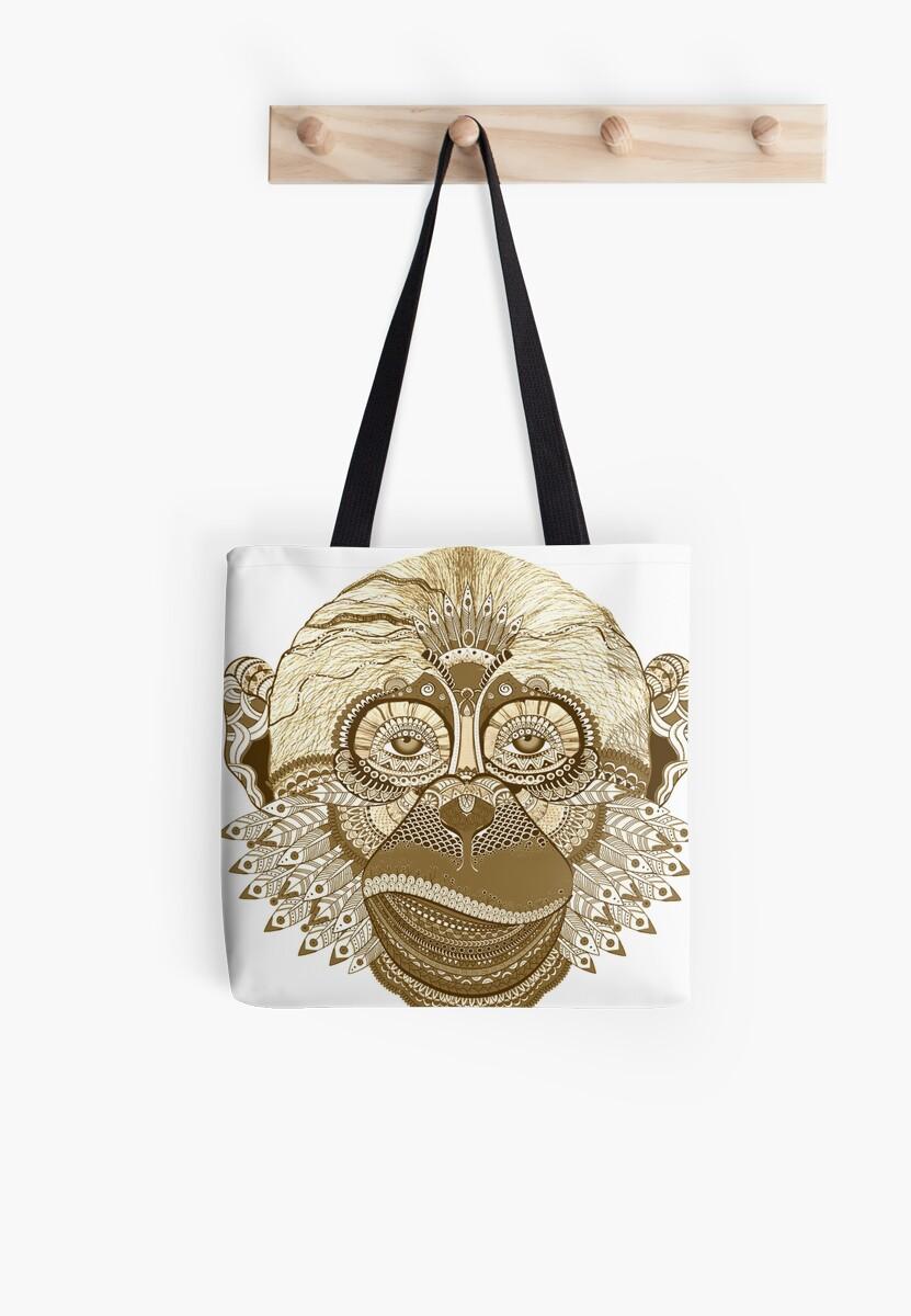 Gold Chimp by digital-circus