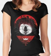 Fear The Clown Women's Fitted Scoop T-Shirt