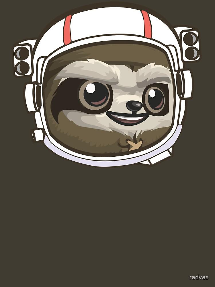 Sloth Astronaut by radvas