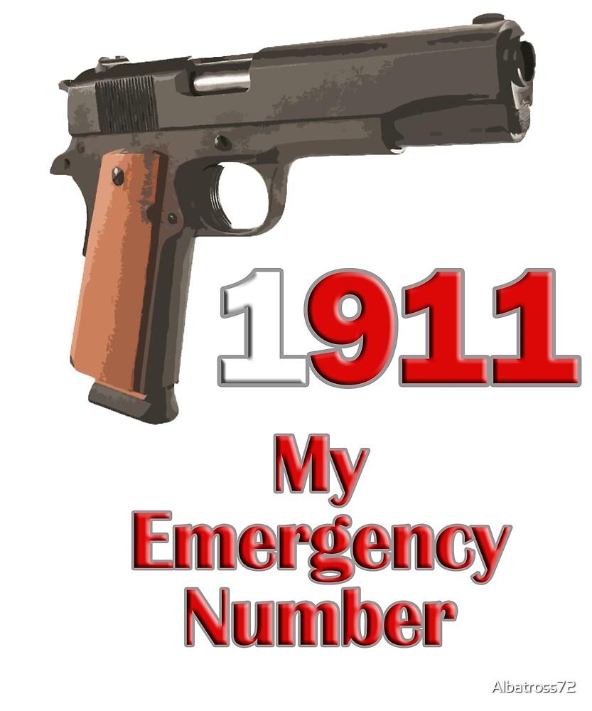 1911 Is My Emergency Number by Albatross72