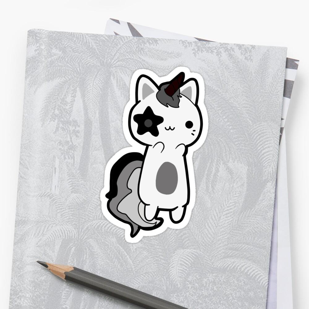 Kawaii Black Cat by MoniCaniLore