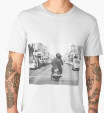 Scooter on Smith Street Men's Premium T-Shirt