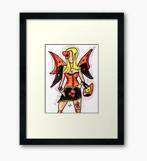 Gothic Fairey Framed Print