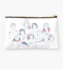 Vintage 1920s Ladies by Katy Bloss Studio Pouch