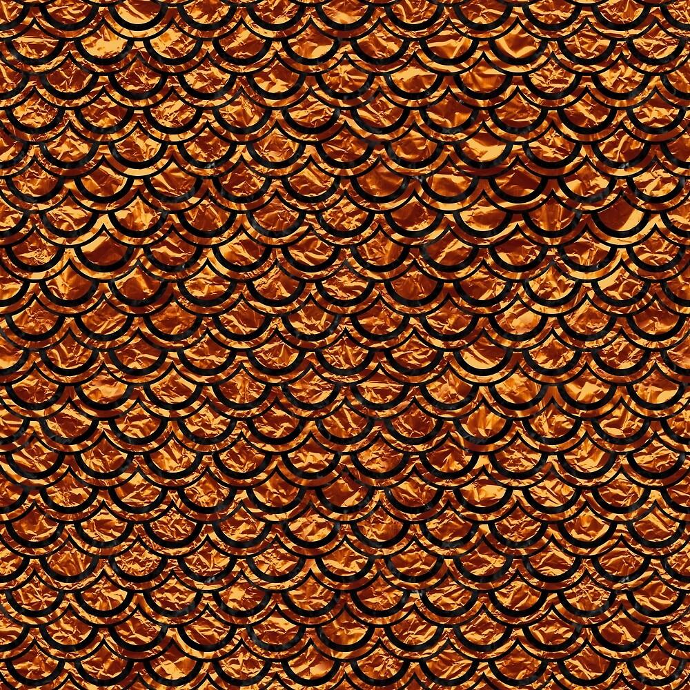 SCALES2 BLACK MARBLE & COPPER FOIL (R) by johnhunternance