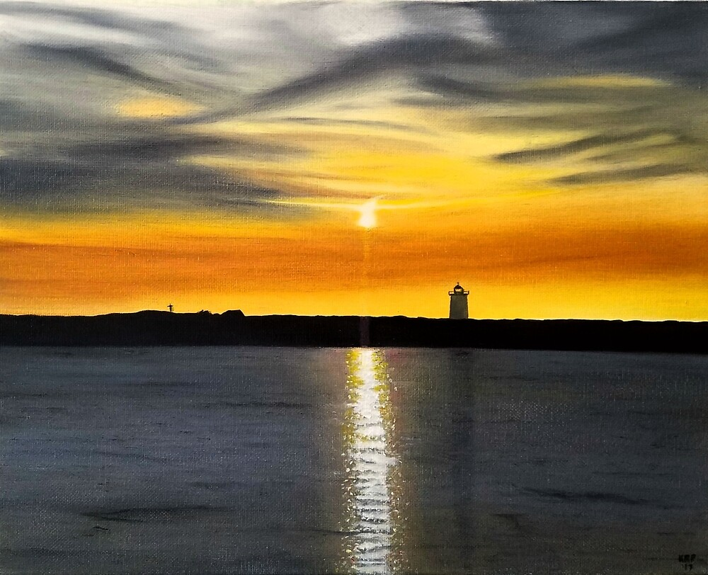 End Of Day At Long Point by Ken Pratt