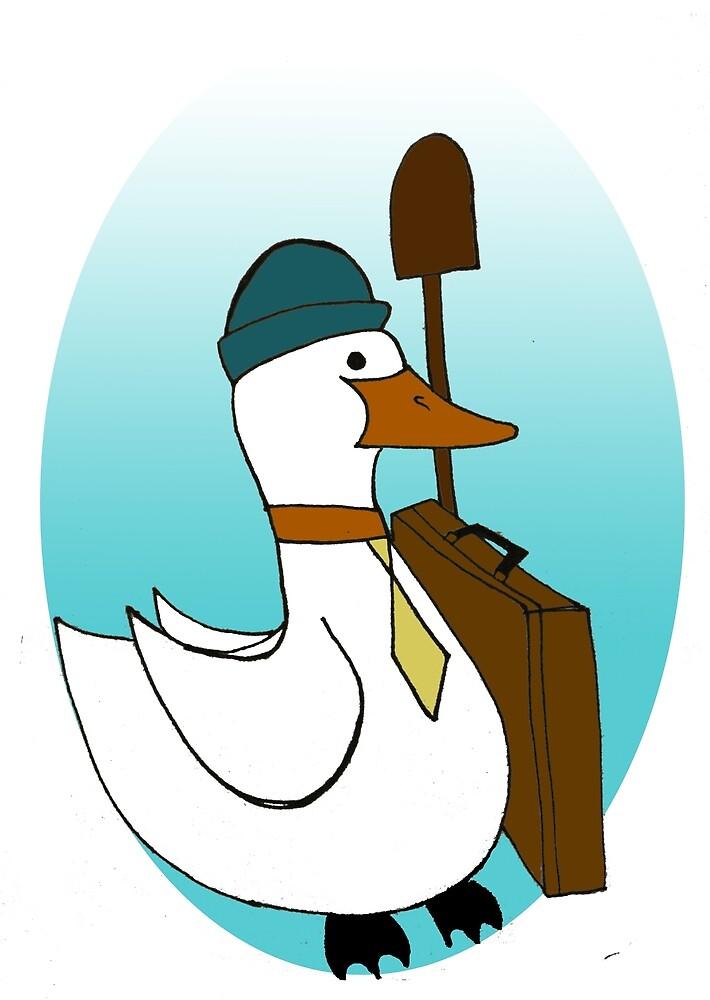 Business Duck by fantasticmrsfox