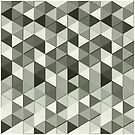 Cool Grayscale triangles geometric pattern by PLdesign
