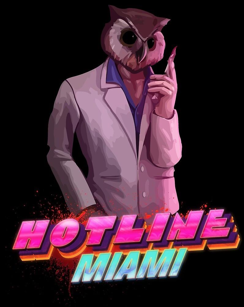 Rasmus (Hotline Miami by GodzillaOctopus