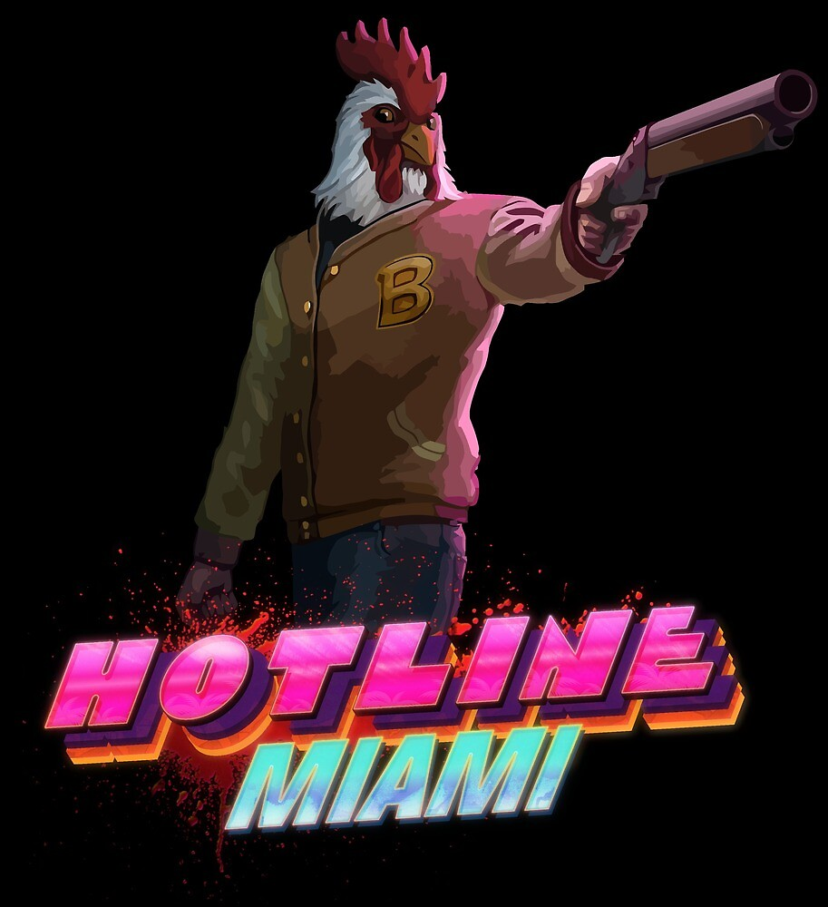 Richard (Hotline Miami) by GodzillaOctopus