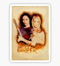 Buffy Earper Poster 1 Sticker