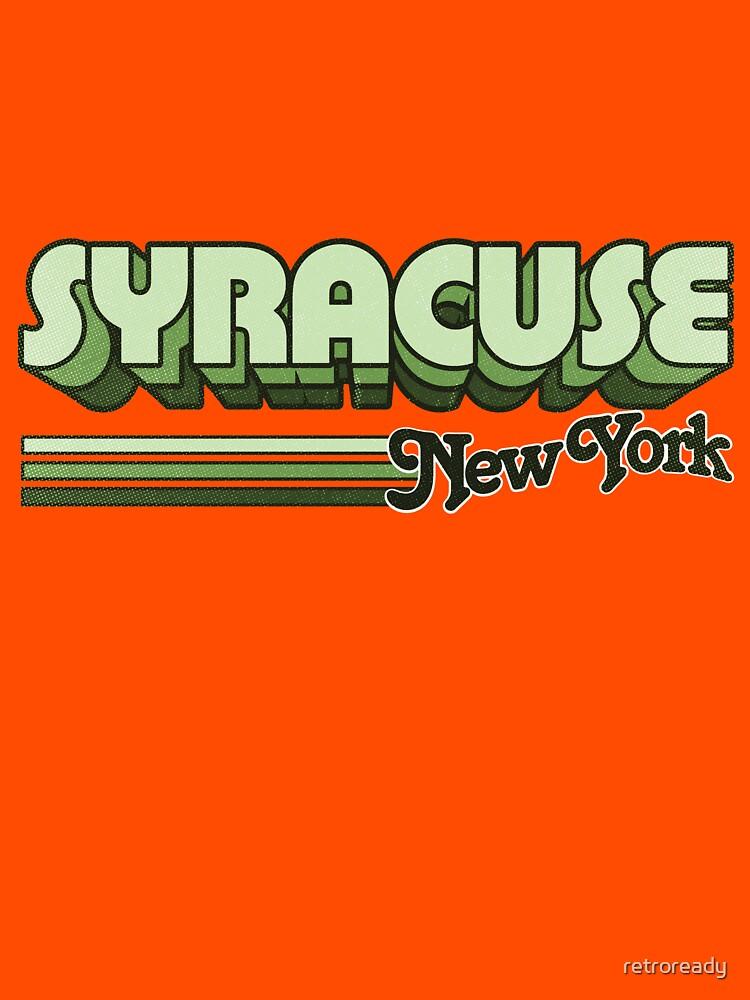 Syracuse, NY | City Stripes by retroready