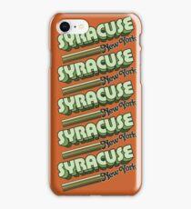 Syracuse, NY | City Stripes iPhone Case/Skin