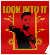 Look into it - Eddie Bravo Poster