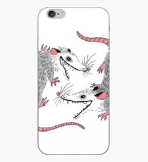 Double Possums iPhone Case