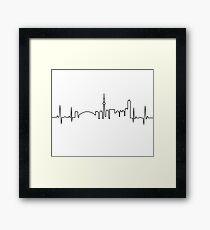 Toronto Heartbeat Framed Print