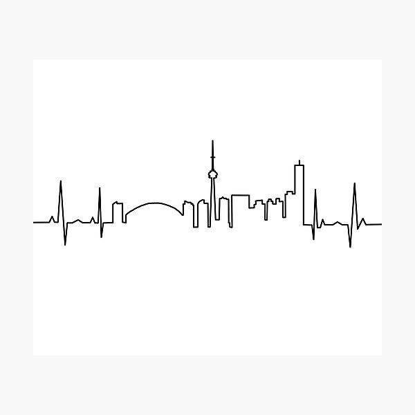 Toronto Heartbeat Photographic Print