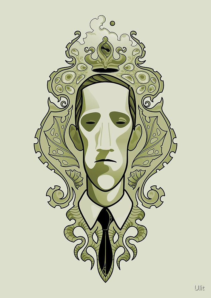 Lovecraft (swamp of lunacy) by Ulit