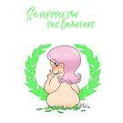« Curvy Girl Rose - Se reposer sur ses lauriers » par mimikaweb