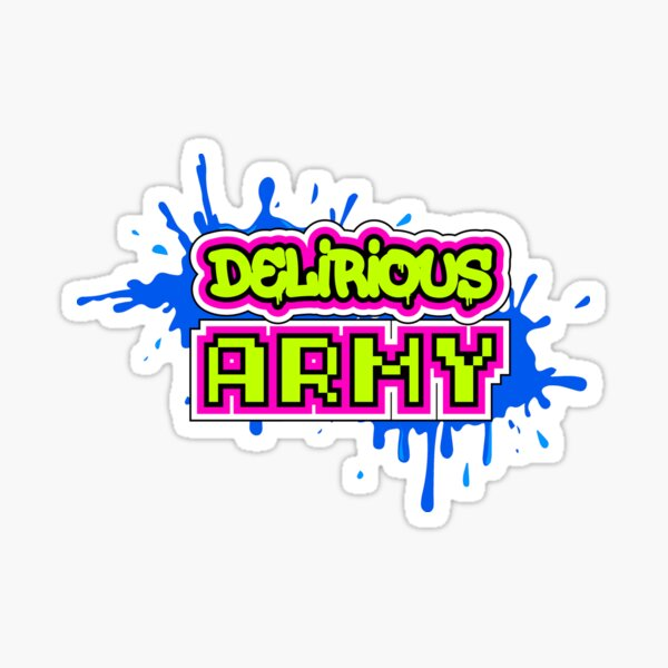 Delirious Army Sticker