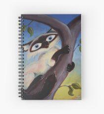 Tree Climbing Cat Spiral Notebook