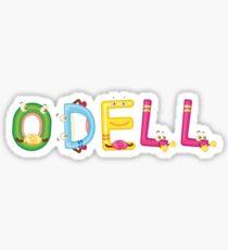 Odell Sticker