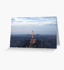 Paris At Twilight Greeting Card