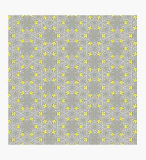 Small Pretty Yellow Flowers Photographic Print