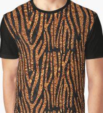 SKIN4 BLACK MARBLE & COPPER FOIL (R) Graphic T-Shirt