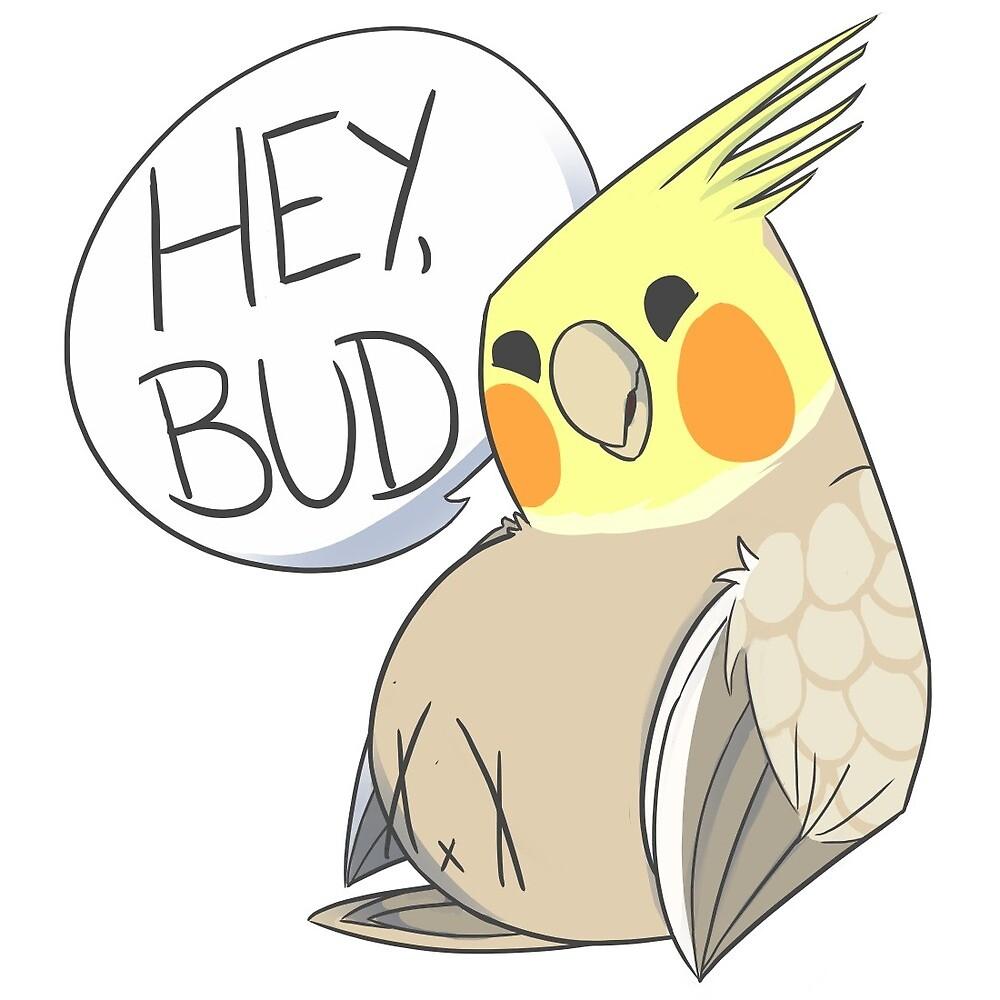 Hey bud! (Transparent) by SomewhatStaleGo