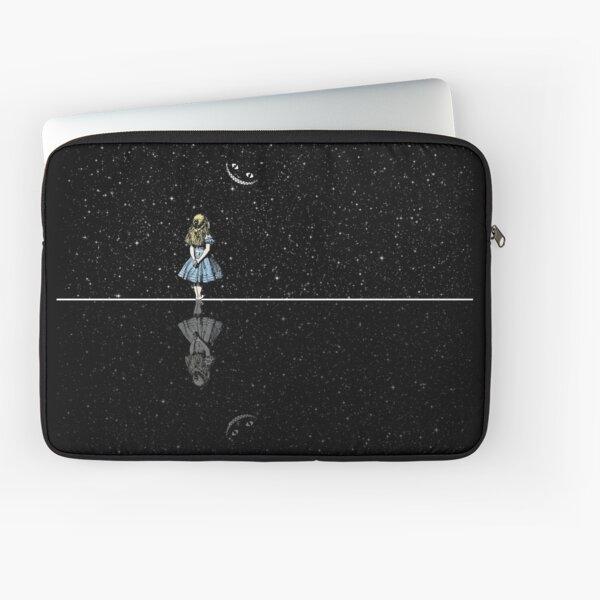 Alice In Wonderland Starry Night Laptop Sleeve