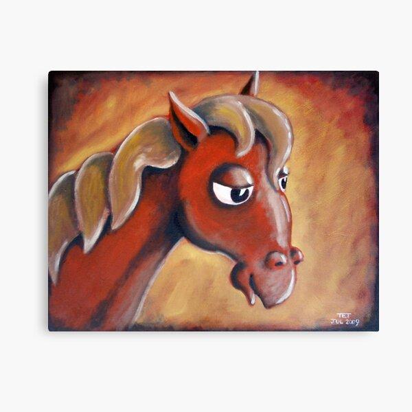 Neddy the Horse Canvas Print