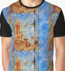Rust Grunge Metal Texture Graphic T-Shirt