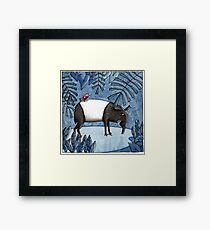 Welcome To The Jungle - Tapir - Schabrackentapir Framed Print