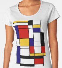 Mondrian Women's Premium T-Shirt