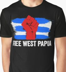 Free West Papua - Support Papuan Independence  Graphic T-Shirt