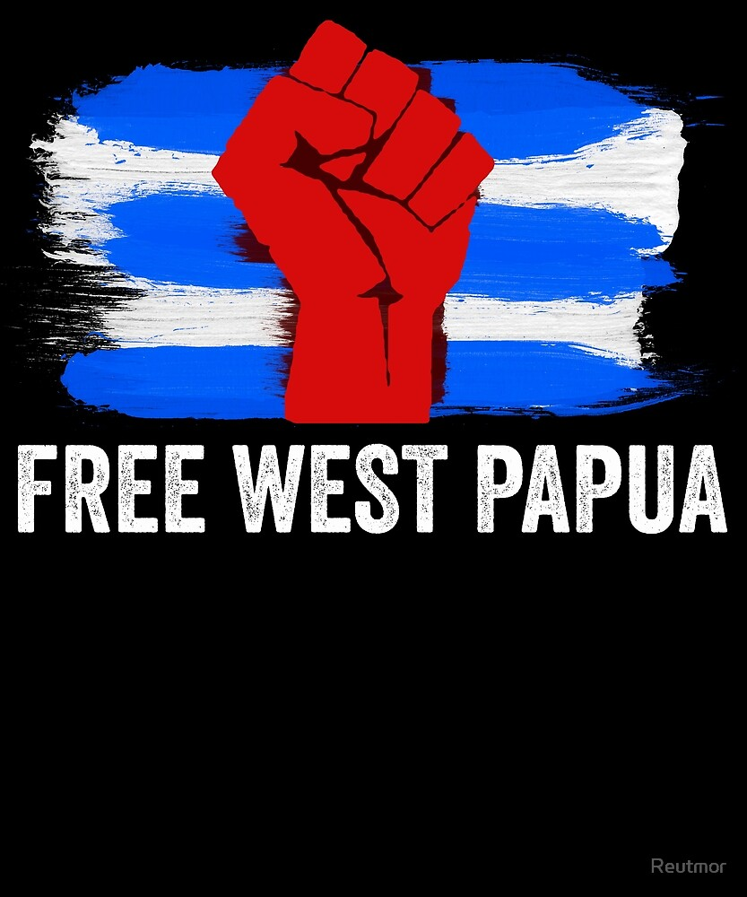 Free West Papua - Support Papuan Independence  by Reutmor